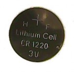 Lithium Coin Cell, 3 volt - CR1220