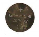 Lithium Coin Cell, 3 volt - CR2032