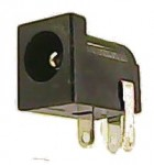 DC Power Jack, Barrel-type, 2.5mm - PCB Mount