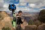 Google Trekker with Phone