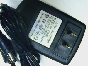 Wall Adapter, Switching Power Supply – 12 volts, 2 Amp